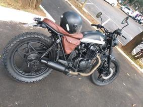 Cafe Racer, Scrambler, Brat Style, Yamaha,street