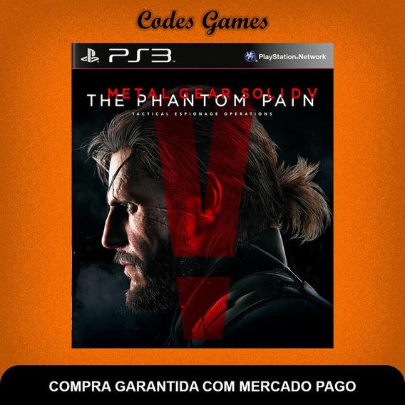 Metal Gear Solid V The Phantom Pain - Ps3 - Envio Agora
