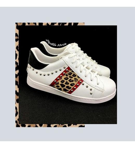 Zapatillas Sneakers Animal Print Luna Chiara