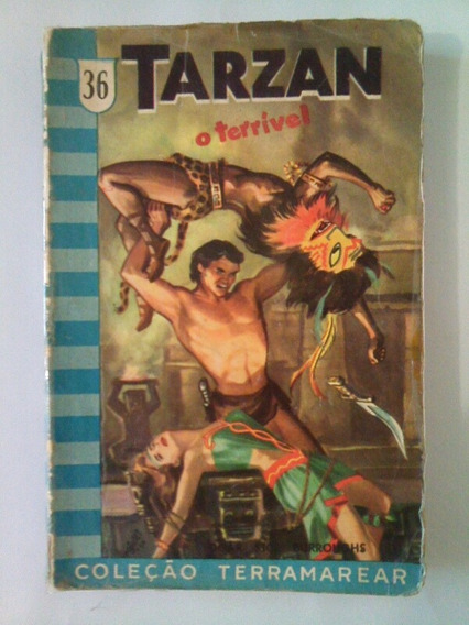 Livro Tarzan O Terrivel
