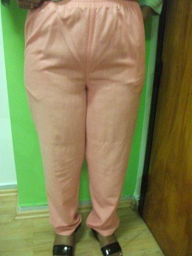 Pantalon Dama Talla 40 Salmon Bolsillos Usado Tienda Virtual