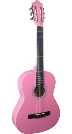 Violão Náilon Acústico Thomaz Tcg-390 Pink