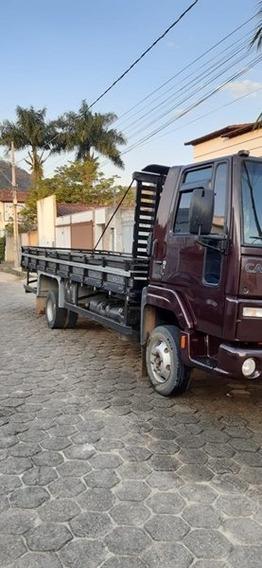 Ford Cargo 816 Ano 2012-13 Carroceria E Ar Condicionado.