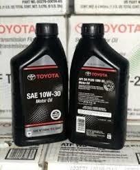 Aceite Toyota 10w30
