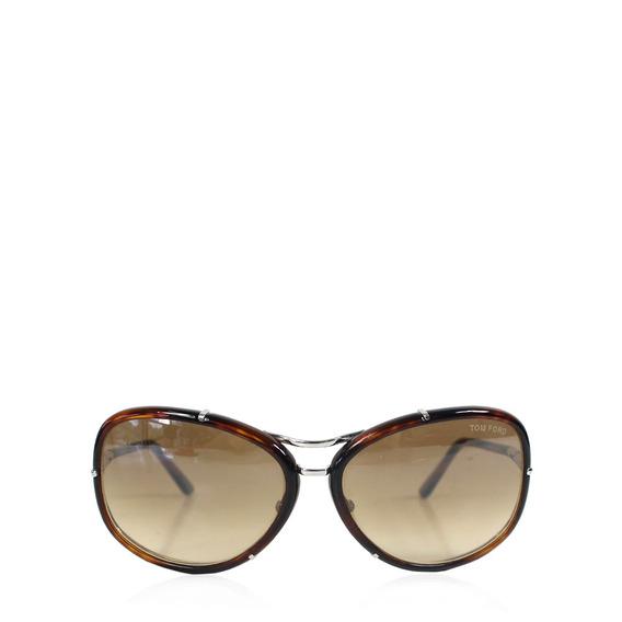 Óculos Tom Ford Espelhado Marrom Tom Ford