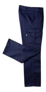 Pantalon Trabajo Cargo Ombu Azul