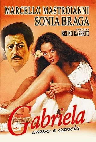 Gabriela, Cravo E Canela (1983) Sonia Braga, Mastroianni Dvd | Mercado Livre