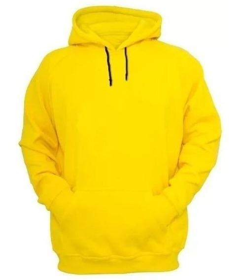 Moletom Masculino Blusa De Frio Lisa