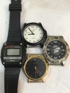 Relojes De Pulsera Por Cuatro Jean Cartier Nike Sanyo