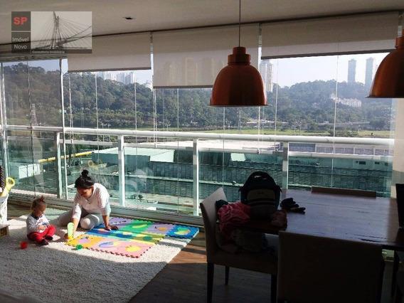 Apartamento Com 2 Dormitórios À Venda, 109 M² Por R$ 1.100.000,00 - Chácara Santo Antônio (zona Sul) - São Paulo/sp - Ap0865