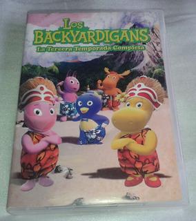 Los Backyardigans Tercera Temporada Boxset De 4 Dvds