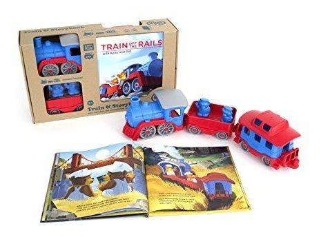 El Juego De Regalo Green Story Storybook Incluye Train X26a