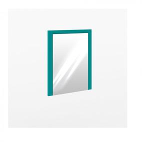 Espelho Com Moldura Turquesa Penteadeira Quarto Salão Sala