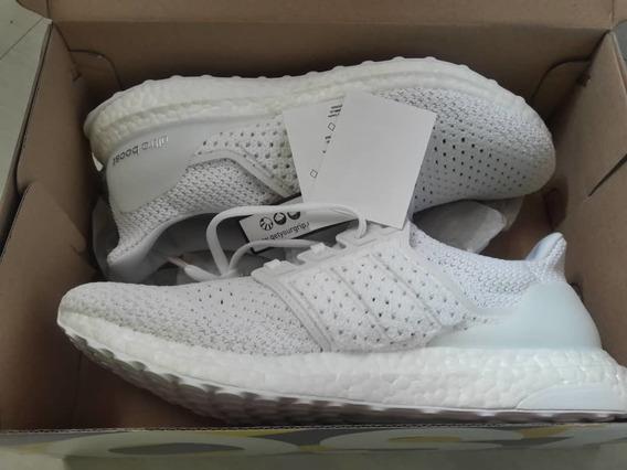 Zapatos adidas Ultra Boost Clima Blanco Us9 1/2 Hombre.