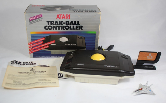 Trak-ball Controller [ Atari 2600 7800 Cib ] Joystick Novo