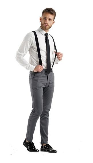 Corbata+tiradores De Hombre Para Traje - Quality Import Usa