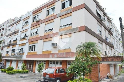 Apartamento 1 Quarto Com Suíte, Living 2 Ambientes, 1 Vaga Coberta, Elevador No Menino Deus - 28-im412956