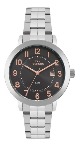 Relógio Technos Feminino Dress 2115mrw/1p Original C/ Nota