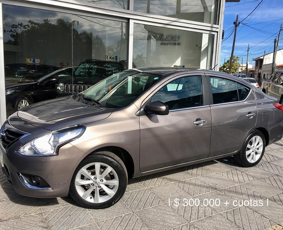Nissan Versa 2017 */ 460000 + Cuotas /*