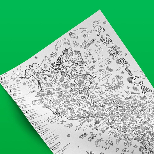 Atlantis Mapas- Proyecto Animales De América- Sitio Original