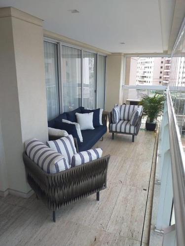Imagem 1 de 14 de Apartamento Com 3 Dormitórios À Venda, 228 M² Por R$ 2.450.000,00 - Parque Da Mooca - São Paulo/sp - Ap5503
