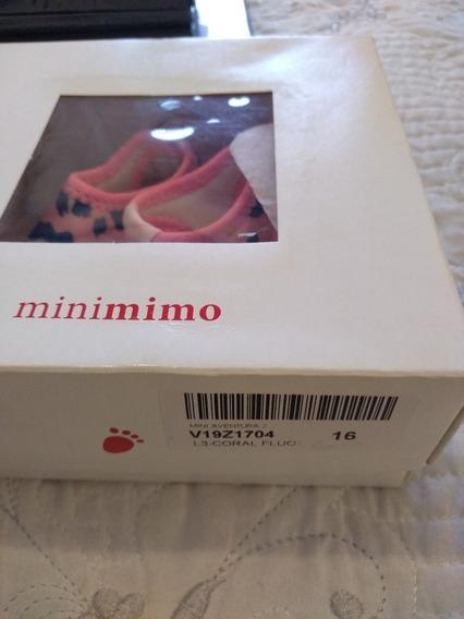 Ojotas Zapatos Sandalias Coral Mimo & Co 16 Elastizadas