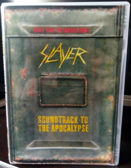 Slayer - Soundtrack To The Apocalypse (leia A Descrição)