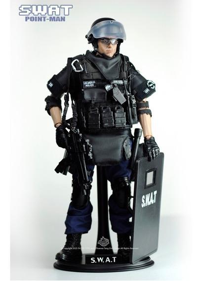 Figura Policia 1/6 Swat Soldado Gi Joe 12 Pulgadas