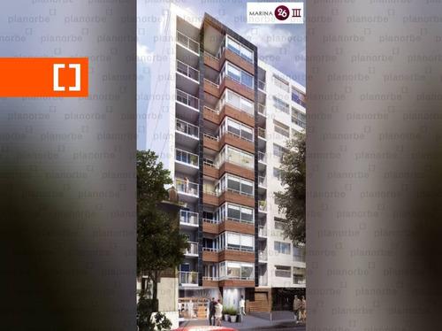 Venta De Apartamento Obra Construcción Monoambiente En Pocitos, Marina 26 Iii Unidad 804
