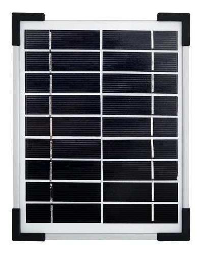 Reflector Led Solar 5 W C/base.-parksolar (envío Gratis)