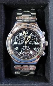 Relógio Swatch Irony Aço , Funcionamento 100%