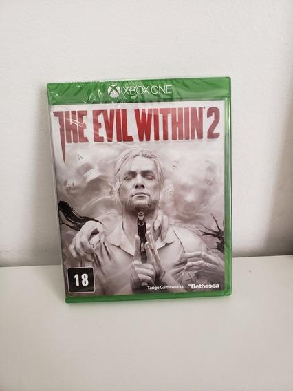 Jogo Xbox One - The Evil Within 2 - Lacrado Mídia Física