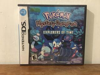 Pokemon Mystery Dungeon Explorers Of Time Nintendo Ds Nuevo