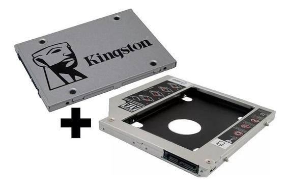 Ssd 240gb Kingston + Adaptador Hd Caddy Apple Macbook Pro.