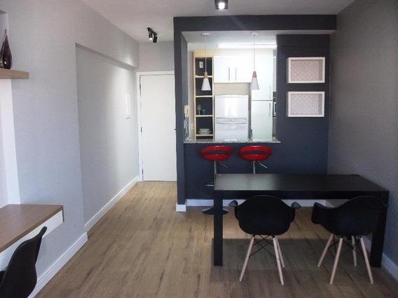 Flat Com 1 Dormitório Para Alugar, 54 M² Por R$ 2.400,00/mês - Jardim Aquarius - São José Dos Campos/sp - Fl0013
