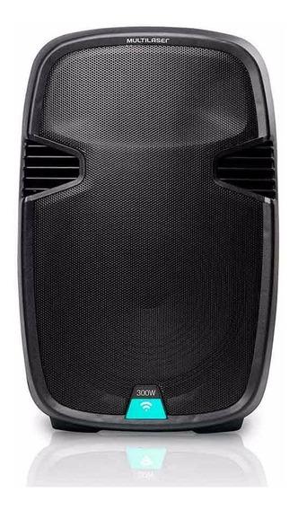 Caixa De Som Amplificadora Trolley 15 Pol Bluetooth