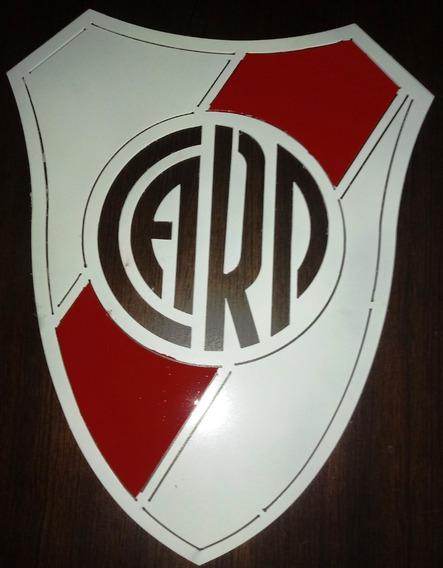 Escudos De Equipo De Futbol En Chapa