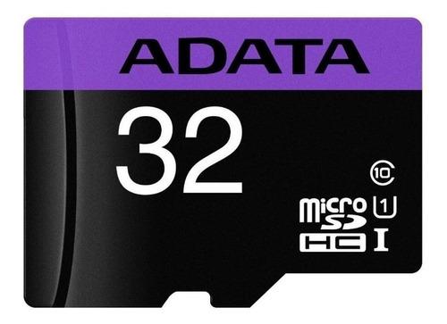 Tarjeta de memoria Adata AUSDH32GUICL10-RA1 Premier con adaptador SD 32GB