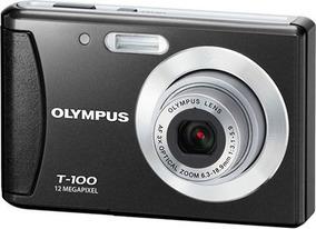 Câmera Digital Olympus Stylus T100 12mp Usada