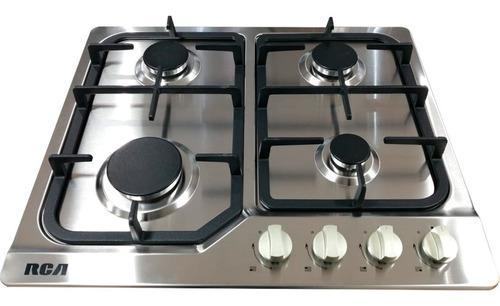 Cocina Encimera A Gas Rca 4 Quemadores