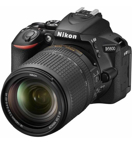 Nikon D5600 New 2020 Super Kit 18-55 64gb Bolso Garantía