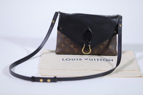 Bolsa Original Louis Vuitton St Michell Mng Epi Noir