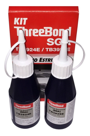 Adesivo Estrutural Cola Retrovisor Interno Threebond 50g Par