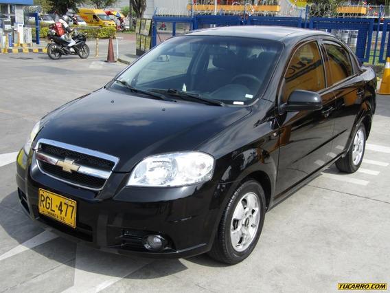 Chevrolet Aveo Emotion Full Equipo 1600