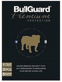 Bullguard Premium Protection 1 Ano 3 Pc ... Leia!