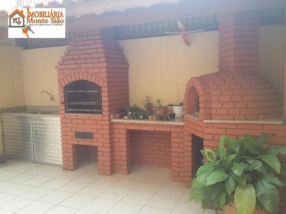 Sobrado Com 3 Dormitórios À Venda, 140 M² Por R$ 650.000,00 - Jardim Santa Mena - Guarulhos/sp - So0440