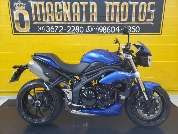 Triumph Speed Triple - 2014- Azul - Km 29000