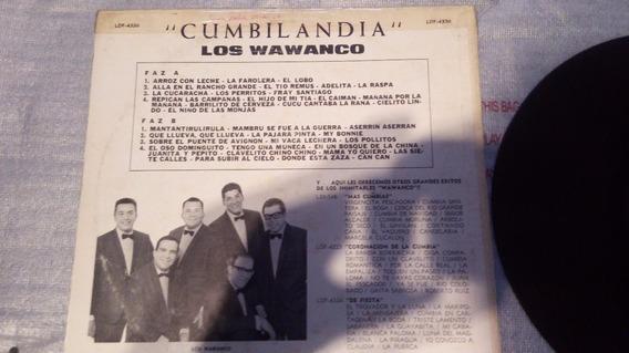 Disco Lp Los Wawanco Originales - Cumbilandia - Coleccion