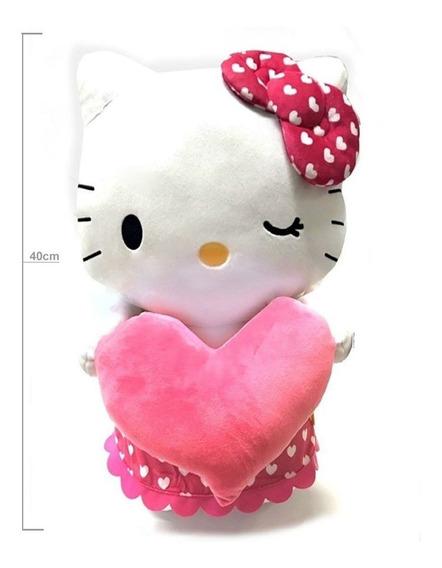 Pelúcia Gigante Hello Kitty Sanrio 40cm - Dtc