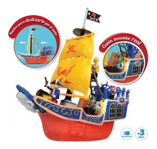 Galeon Barco Pirata Figuras Simil Playmobil 6443 Bigshop